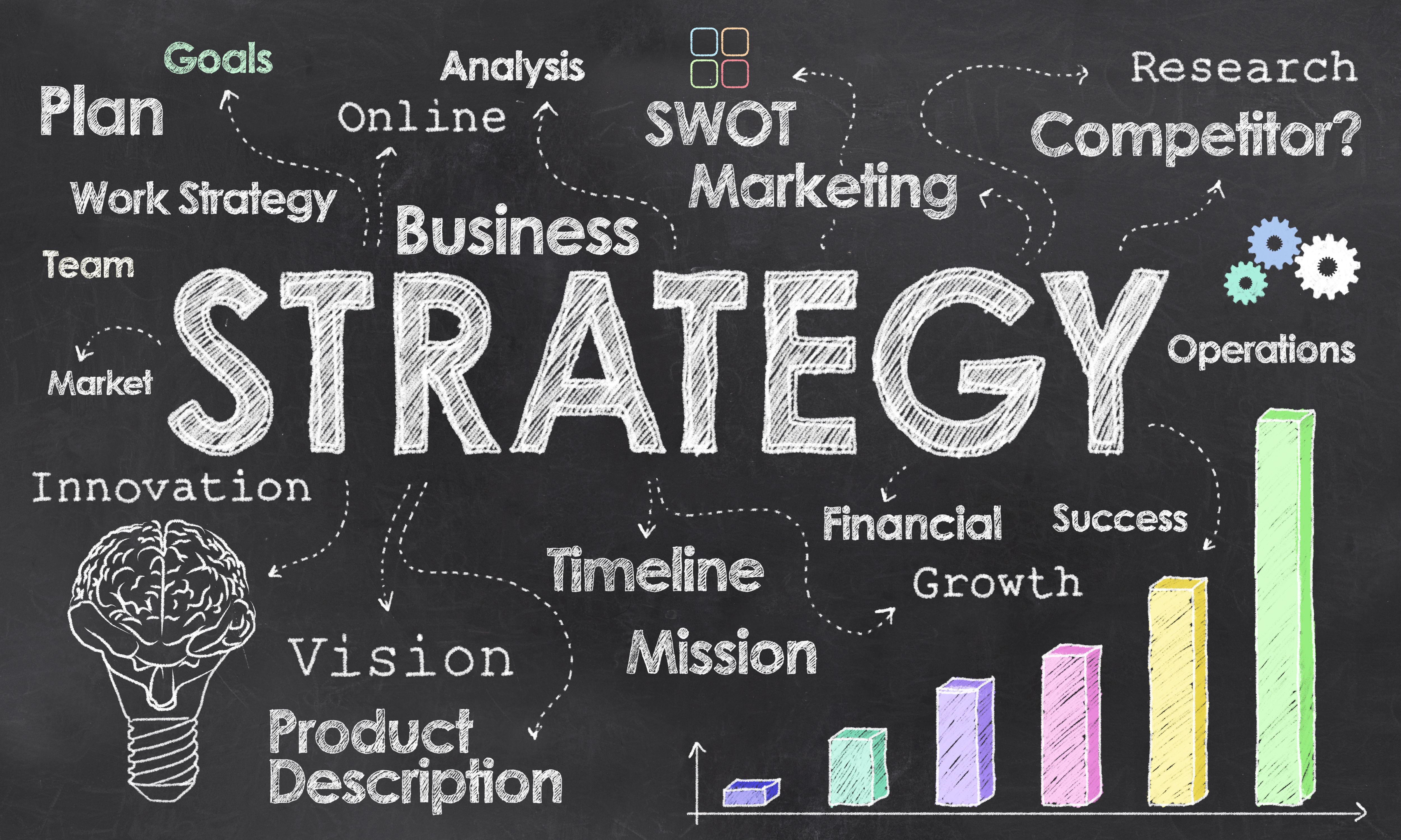 business strategy for t h What is business strategy strategy is identifying your competitive advantage and focusing all your energy and resources on one, or a very few.