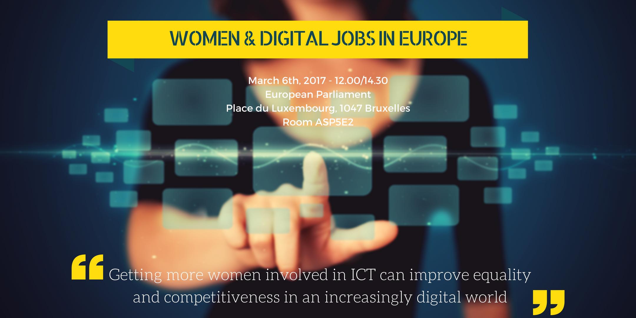 Europa chiama, Women&tech risponde